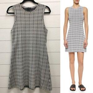 Theory Branteen Dress Fit & Flare Stretch Mini